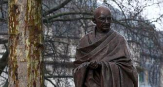 Mahatma's statue vandalised in US; India seeks action