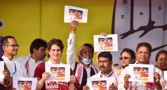 Cong will bring law to nullify CAA in Assam: Priyanka