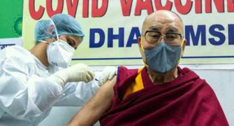 Dalai Lama receives first dose of Covid vaccine