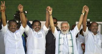 AIADMK seals poll pact with BJP, allots 20 seats