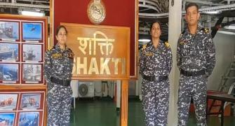 After 23 yrs, navy deploys women officers on warships