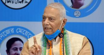 Yashwant Sinha: Why I joined the TMC