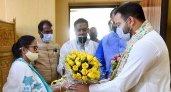 Mamata, Tejashwi discuss Bengal poll