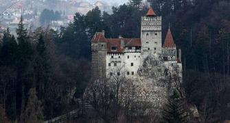 Think you're brave? Get vaccinated at Dracula's castle