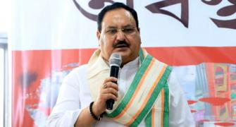 Cong creating false panic in Covid fight: Nadda