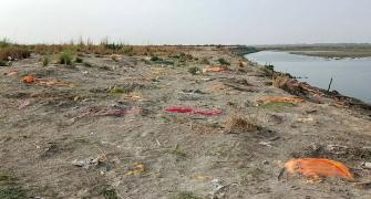 Corpses in Ganga: Cremations after dogs maul bodies