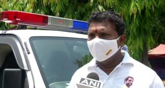 Delhi police question Covid hero Srinivas BV