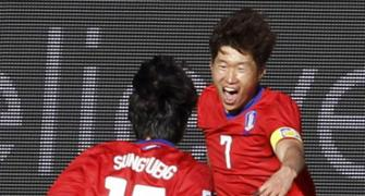South Korea get off to flying start