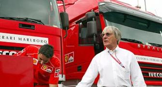 Bernie Ecclestone touching 80, and at full throttle