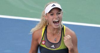 Caroline Wozniacki: Looking solid and sure