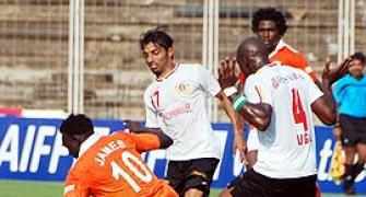 Tolgay nets the winner for East Bengal