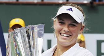 Top seed Wozniacki clinches Indian Wells title