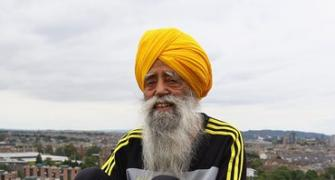 Another marathon milestone for centenarian Fauja Singh