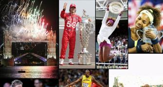 PHOTOS: Sporting spectacles that made 2012 special