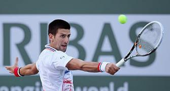 Indian Wells: Djokovic does it easy, Murray exits