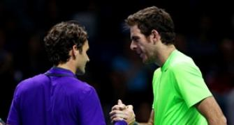 It's Federer vs Murray semis at World Tour Finals