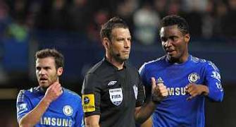 Chelsea deny hypocrisy in referee racism claims