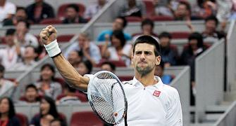 Djokovic in contention for No.1 spot after Asian 'double'