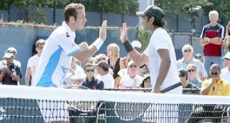 Paes in quarters of men's, mixed doubles