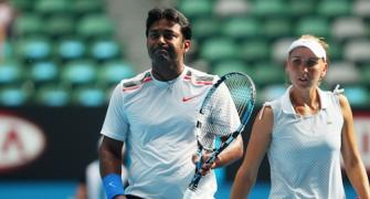 US Open: Paes, Sania out of mixed doubles