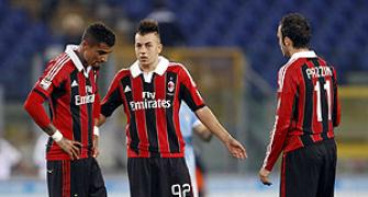 AC Milan players walk-off pitch after racist chanting