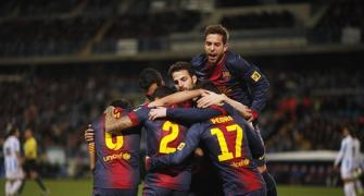 King's Cup: Barcelona set up semis clash with Real
