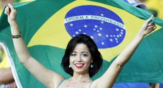 Confed Cup: Party outweighs protest after Brazil's victory