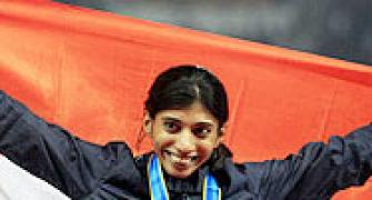 Ashwini among 15 Indian athletes for World Championships