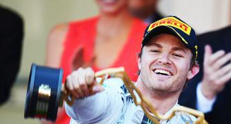 F1: Rosberg emulates dad as he makes merry at Monaco GP