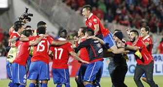 Chile, Ecuador book World Cup berth, Uruguay to playoff