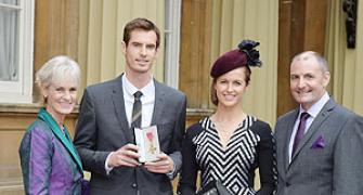 Murray honoured with OBE