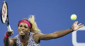 US Open: Serena tops Taylor; Federer beats Matosevic in opener