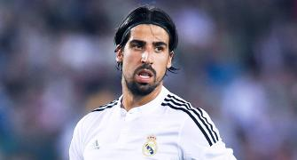 Real Madrid's Khedira suffers concussion in King's Cup game