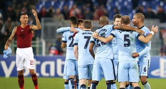Champions League PHOTOS: City scrape through; Barca create new record