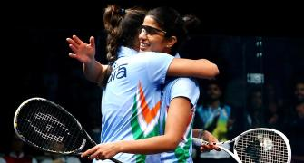 Dipika, Joshna, Ghosal raise a 'racket' for Indian squash