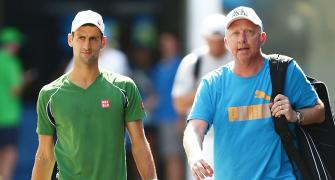How Becker helped Djokovic improve