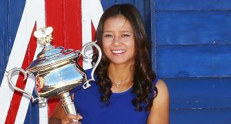 It's a girl for former French Open champ Li Na