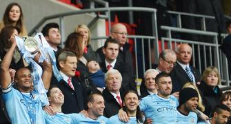 League Cup: Manchester City sink Sunderland to win final