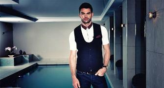 The Hottest Sporting Buzz is here! Anderson launches own men's fashion range