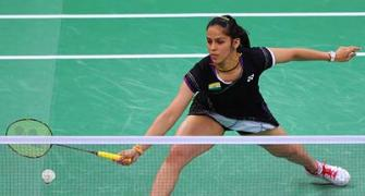 Saina leads Indian women's charge into Uber Cup quarters