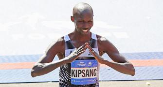 New York Marathon PHOTOS: Kenyans Kipsang, Keitany scrape to wins