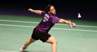 Saina bows out of Hong Kong Super Series