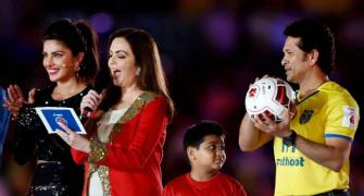 Indian Super League kicks off with glittering ceremony