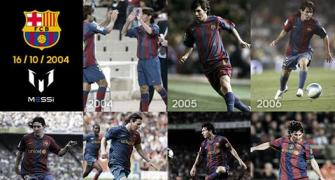 Messi thanks fans, friends after 10 'wonderful' years at FC Barcelona