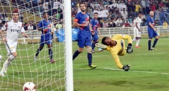 NorthEast stun Mumbai 2-0 in ISL match