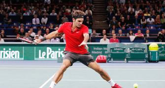 Paris Masters: Federer battles past Chardy for third round berth