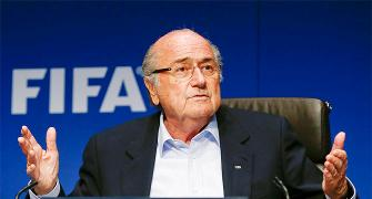 I'm just a servant of football, says Blatter