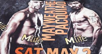 Before Fight of the Century, Mayweather, Pacquiao downplay animosity