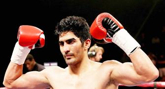 Will Vijender deal third straight knock-out?