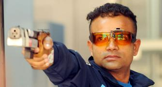 London Games silver medallist Vijay's hopes dashed; Kynan Chenai secures Olympic quota